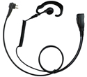 ENDURA 1 WIRE AUDIO KIT - EAR HOOK, PTT, MT1 FOR MOTOROLA CP200