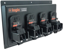 LOGIC 4-UNIT IN-VEHICLE CHARGER FOR MOTOROLA APX6000 BATTERIES